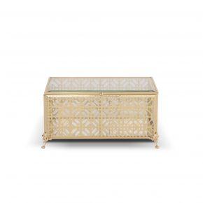 JEWL BOX NEW PATTERN CLASSIC GOL 13X20X9