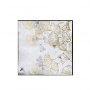 WALL DECO JAPANESE FLOWER RIGHT 80X80CM